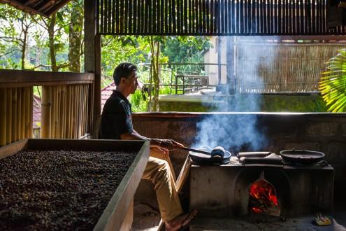 Bali Kopi Luwak Coffee Roasting